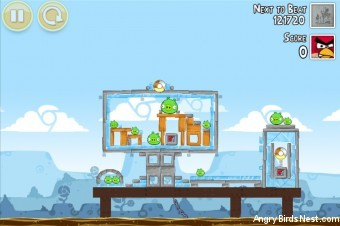 Angry Birds Google+ Teamwork Level G-7