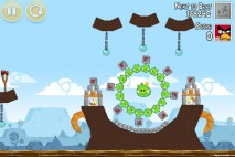 Angry Birds Google+ Teamwork Level G-8