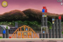 Angry Birds Rio Airfield Chase Walkthrough Level 12 (9-12)