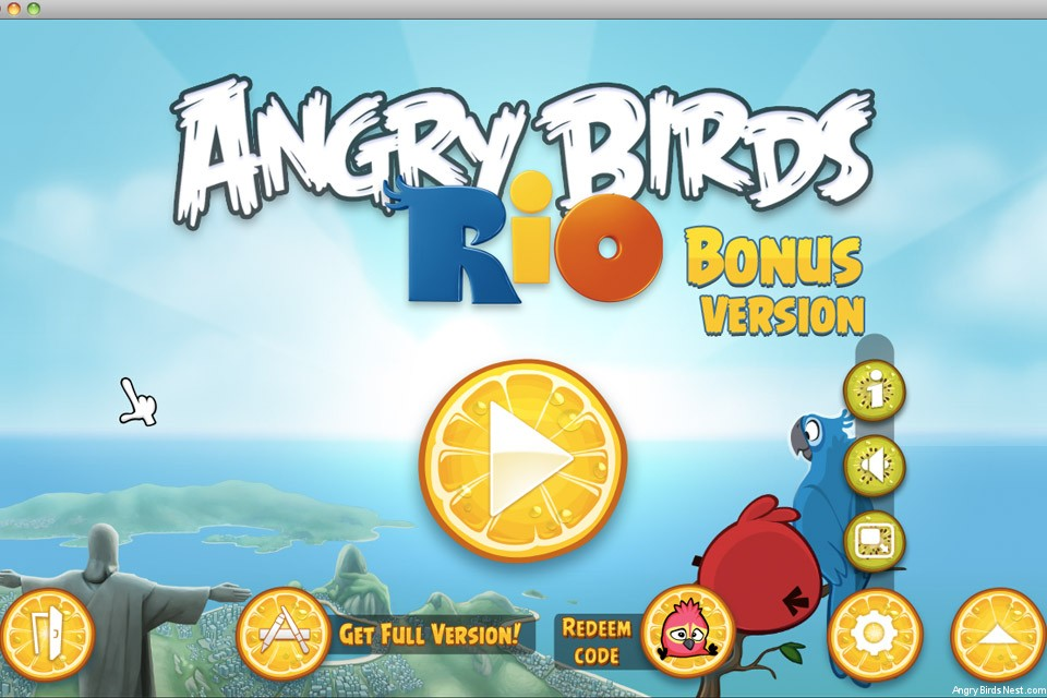 angry birds rio bonus version with golden beachball episode now available for mac angrybirdsnest. Black Bedroom Furniture Sets. Home Design Ideas