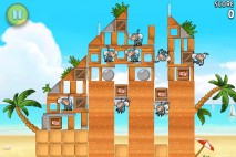 Angry Birds Rio Golden Beachball Level 1