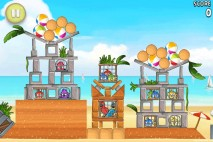 Angry Birds Rio Golden Beachball Walkthrough Level #11