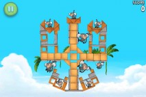 Angry Birds Rio Golden Beachball Walkthrough Level #13