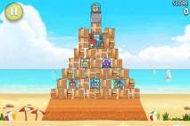Angry Birds Rio Golden Beachball Level 2