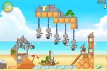 Angry Birds Rio Golden Beachball Level 3
