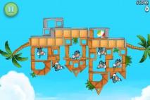 Angry Birds Rio Golden Beachball Level 4