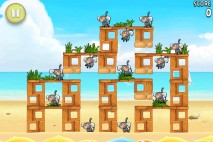 Angry Birds Rio Free Golden Beachball Walkthrough Level #5