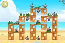 Angry Birds Rio Free Golden Beachball Walkthrough Level #5