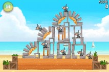 Angry Birds Rio Free Golden Beachball Walkthrough Level #7