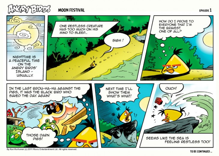 Angry Birds Seasons Moon Festival Comic (all Parts