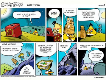 Angry Birds Seasons Moon Festival Comic Part 2