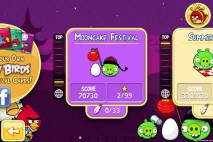 Angry Birds Seasons Mooncake Festival Episode Selection Screen
