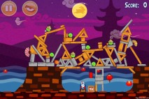 Angry Birds Seasons Mooncake Festival Level 1-13 Walkthrough