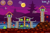 Angry Birds Seasons Mooncake Festival Level 2-10 Walkthrough