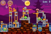 Angry Birds Seasons Mooncake Festival Level 2-11 Walkthrough