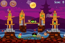 Angry Birds Seasons Mooncake Festival Level 2-14 Walkthrough