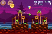 Angry Birds Seasons Mooncake Festival Level 3-1 Walkthrough