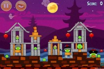 Angry Birds Seasons Mooncake Festival Level 3-3 Walkthrough