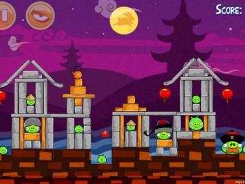 Angry Birds Seasons Mooncake Festival Level 2-18