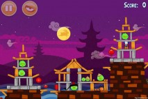 Angry Birds Seasons Mooncake Festival Level 2-4 Walkthrough
