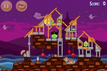 Angry Birds Seasons Mooncake Festival Level 2-5 Walkthrough