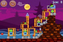 Angry Birds Seasons Mooncake Festival Level 2-8 Walkthrough