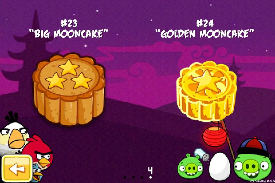 Cake Moon Festival Angry Birds