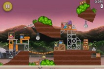 Angry Birds Rio Airfield Chase Walkthrough Level 26 (10-11)