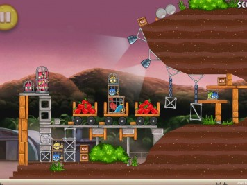 Angry Birds Rio Airfield Chase Level 10-14