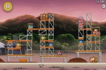 Angry Birds Rio Airfield Chase Level 10-4