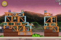 Angry Birds Rio Airfield Chase Walkthrough Level 21 (10-6)