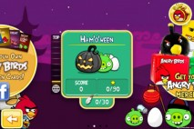 Angry Birds Seasons Hamoween Episode Selection Screen
