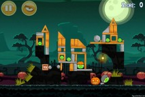 Angry Birds Seasons Ham'o'ween Level 1-10 Walkthrough