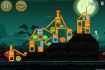 Angry Birds Seasons Ham'o'ween Level 1-11 Walkthrough