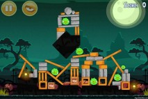 Angry Birds Seasons Ham'o'ween Level 1-12 Walkthrough