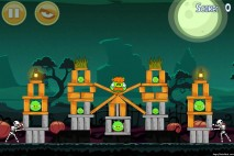 Angry Birds Seasons Ham'o'ween Level 1-13 Walkthrough