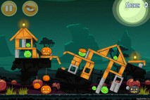 Angry Birds Seasons Ham'o'ween Level 1-14 Walkthrough