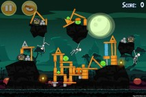 Angry Birds Seasons Ham'o'ween Level 1-15 Walkthrough