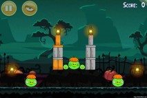 Angry Birds Seasons Ham'o'ween Level 1-4 Walkthrough
