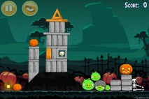 Angry Birds Seasons Ham'o'ween Level 1-5 Walkthrough