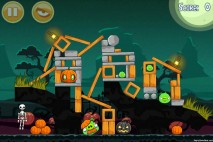 Angry Birds Seasons Ham'o'ween Level 1-6 Walkthrough