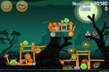Angry Birds Seasons Ham'o'ween Level 1-7 Walkthrough