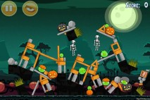 Angry Birds Seasons Hamoween Level 1-8