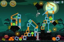 Angry Birds Seasons Ham'o'ween Level 1-9 Walkthrough
