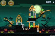 Angry Birds Seasons Ham'o'ween Level 2-1 Walkthrough