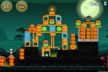 Angry Birds Seasons Ham'o'ween Level 2-10 Walkthrough