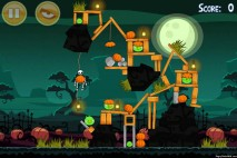 Angry Birds Seasons Ham'o'ween Level 2-12 Walkthrough