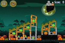 Angry Birds Seasons Ham'o'ween Level 2-14 Walkthrough