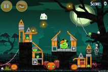 Angry Birds Seasons Ham'o'ween Level 2-15 Walkthrough