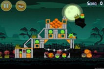 Angry Birds Seasons Ham'o'ween Level 2-2 Walkthrough